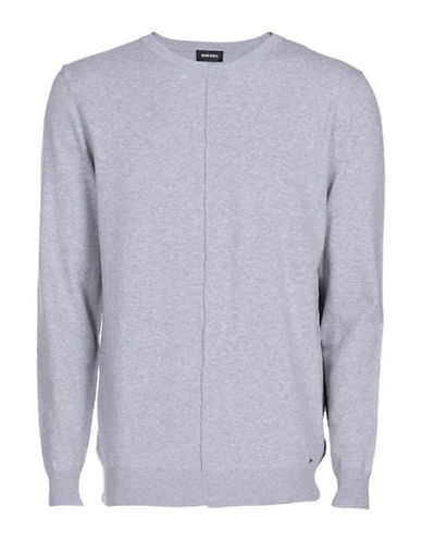 Diesel K-Coast Pullover-GREY-Small
