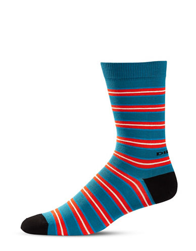 Diesel SKM-Ray Stripes Socks-BLACK-Large