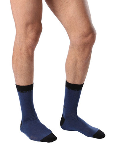 Diesel SKM-Ray Only the Brave Socks-BLUE-Large