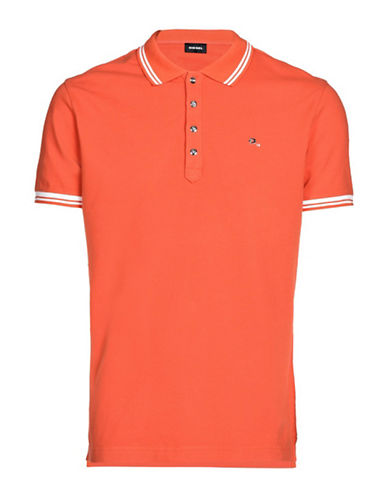 Diesel T-Randy Slim-Fit Polo-RED-XLarge