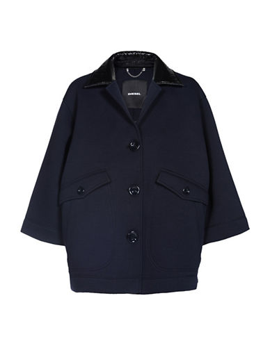 Diesel G-Jocely Jacket-BLUE-X-Small