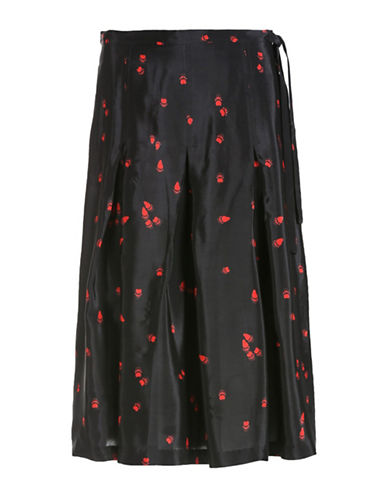 Diesel Julia Midi Skirt-BLACK-30