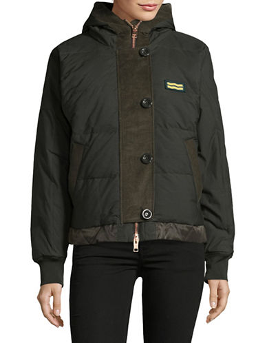 Diesel W-Shelby Jacket-GREEN-Small
