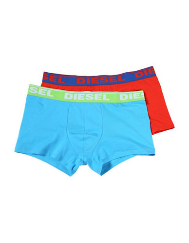 Diesel Two-Pack Boxer Briefs-BLUE/MULTI-Large