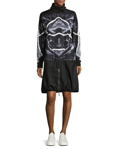 Diesel Ski Mask Sweater Dress-BLACK MULTI-Medium