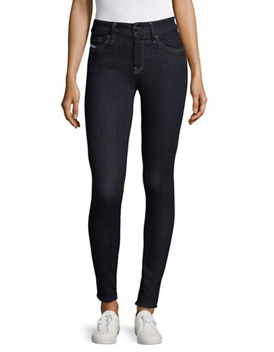 Diesel Slandy Skinny Jeans-DARK DENIM-26