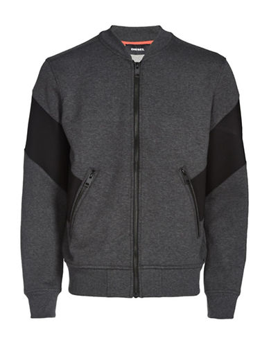 Diesel S-Mello Regular-Fit Jacket-GREY-XXLarge 89517005_GREY_XXLarge