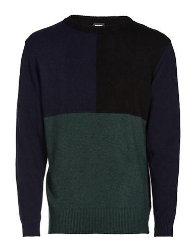 Diesel K-Cash Sweater-BLUE-XLarge