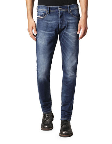 Diesel Tepphar Carrot-Fit Jeans-BLUE-29X32