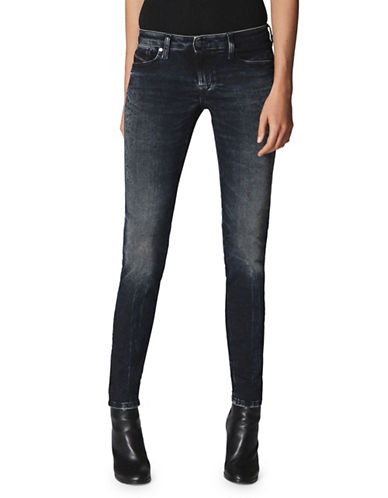 Diesel Gracey Super Slim-Skinny Low-Waist Jeans-BLUE-25
