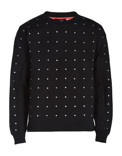 Diesel S-Garbo Regular-Fit Sweatshirt-BLACK-Small