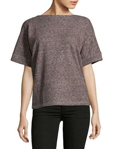 Diesel T-Joanna Wool-Blend T-Shirt-BROWN-Large