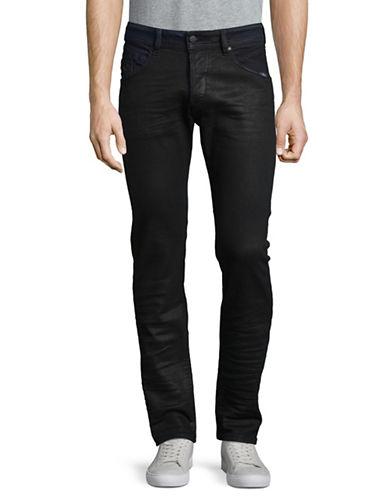 Diesel Stretch Tapered-Fit Jeans-BLACK-28X32
