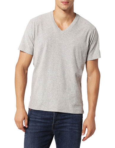 Diesel T-Rene Cotton Tee-GREY-Small