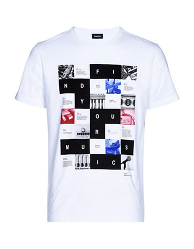 Diesel Joe-RX Cotton Tee-WHITE-XLarge