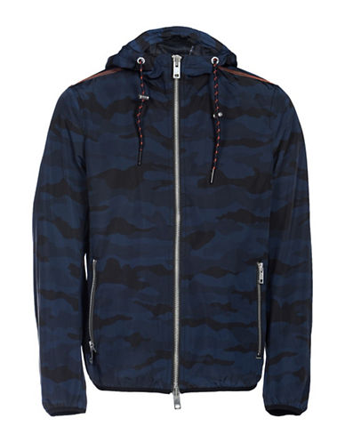 Diesel J-Mel Jacket-BLUE-Large