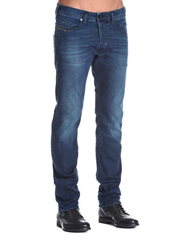 Diesel Belther Tapered-Fit Jeans-BLUE-31X32