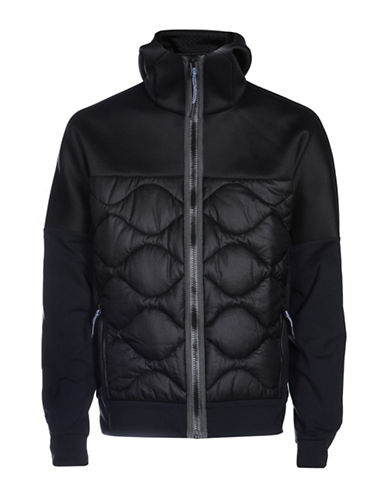 Diesel Dolpek Quilted Jacket-BLACK-Small