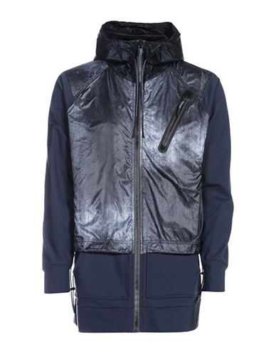 Diesel Pumples Hooded Jacket-BLUE-Large 89516689_BLUE_Large