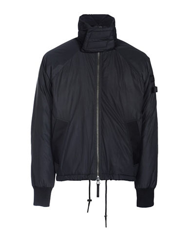 Diesel W-Cutless Down-Filled Jacket-BLACK-Small