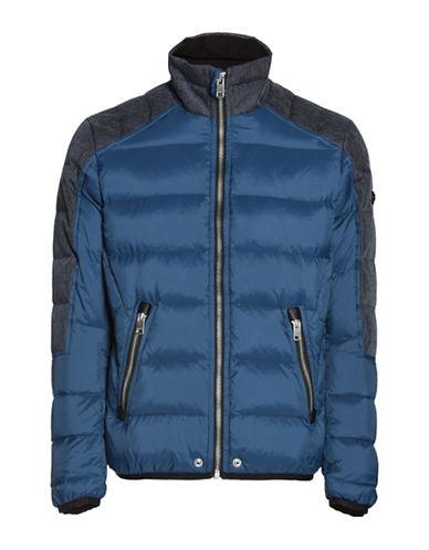 Diesel W-Mode Waterproof Padded Down-Filled Jacket-BLUE-Large