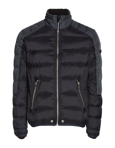 Diesel Mode Waterproof Padded Down-Filled Jacket-BLACK-Small