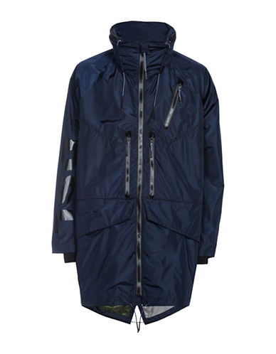 Diesel Bardles High-Performance Overcoat-BLUE-Small