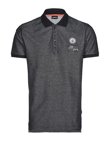 Diesel T-Drago Polo-BLACK-Large