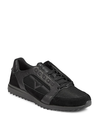 Diesel Mens S-Fleett Sneakers-BLACK-8.5