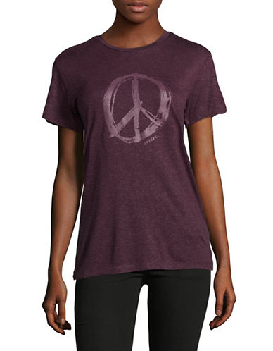 Diesel Graphic T-Shirt-PURPLE-Large