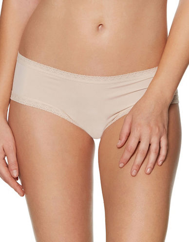 Blush Pretty Little Panties Hipster-BEIGE-X-Small