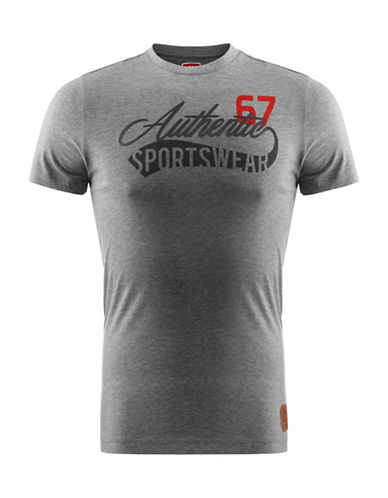 Kappa Slim-Fit T-Shirt-GREY-Medium