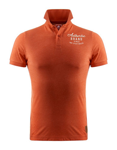 Kappa Slim-Fit Jersey Polo-ORANGE-XX-Large 88322544_ORANGE_XX-Large