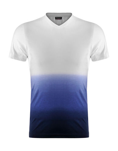 Kappa Ombre Slim-Fit Training Tee-WHITE-Large