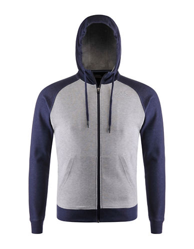 Kappa Slim-Fit Fleece Training Hoodie-BLUE-Medium 88322471_BLUE_Medium