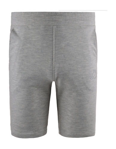 Kappa Wand Slim Fit Training Shorts-MEDIUM GREY-Small 88322465_MEDIUM GREY_Small