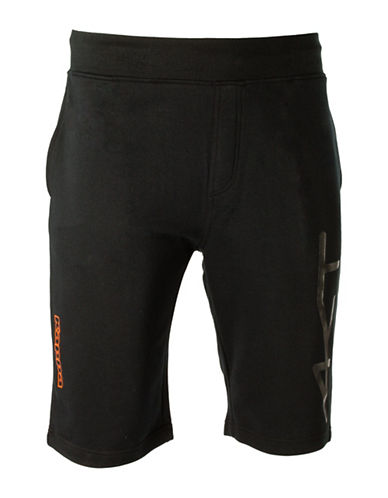 Kappa Regular-Fit Training Shorts-BLACK-Small 88457642_BLACK_Small