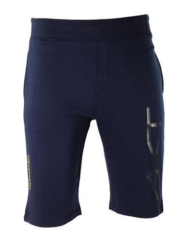 Kappa Regular-Fit Training Shorts-BLUE MARINE-X-Large 88457649_BLUE MARINE_X-Large