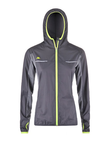 Kappa Mid-Layer Training Jacket-GREY-Medium 88291089_GREY_Medium