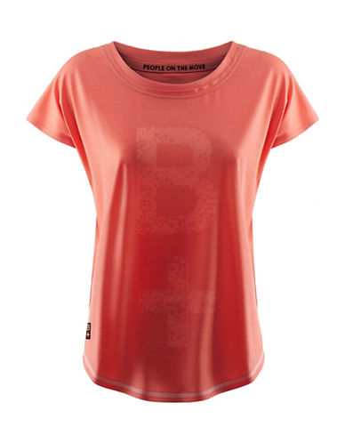 Kappa Regular Fit Sport Training T-Shirt-PINK-Medium 88291065_PINK_Medium