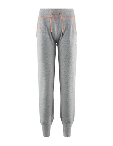 Kappa Slim Fit Sport Training Pants-GREY-X-Small