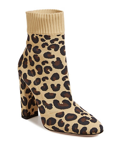 Gianvito Rossi Leopard Print Ankle Booties-LEOPARD-EUR 38/US 8