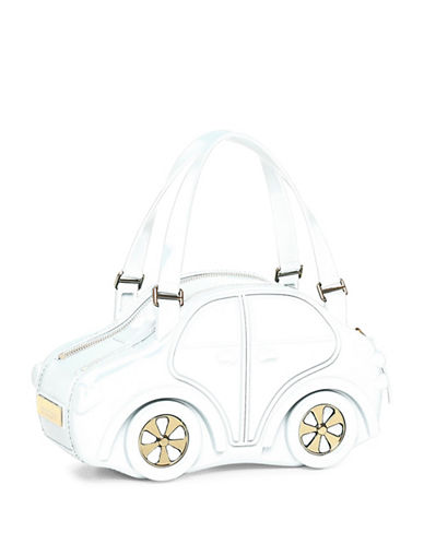 Braccialini Carina Satchel Car Bag-WHITE-One Size