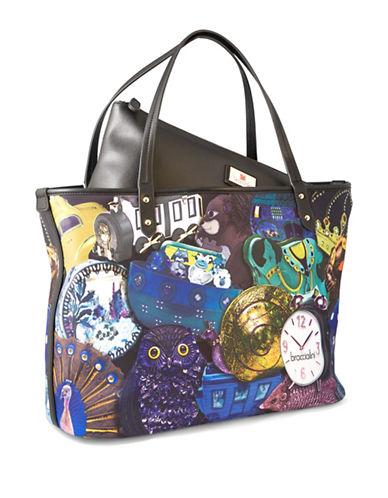 Braccialini Stefania Large Shopper Bag-BLUE-One Size