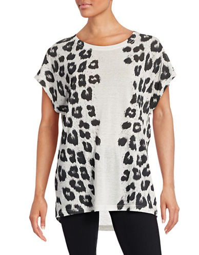Diesel Serra Animal Print T-Shirt-GREY-X-Small 88438872_GREY_X-Small