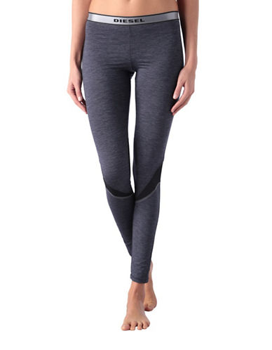 Diesel Logo Leggings-DENIM-Medium 88453050_DENIM_Medium