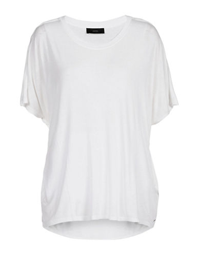 Diesel Hanna Wide T-Shirt-WHITE-X-Small 88438916_WHITE_X-Small