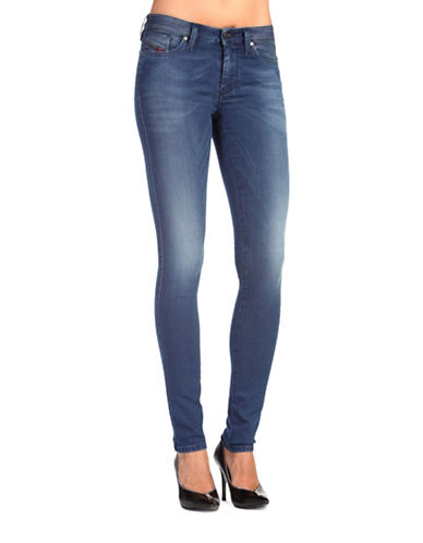 Diesel Skinzee Sweat Jeans-DENIM-26