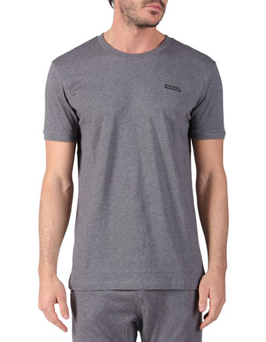 Diesel Jake Short Sleeve T-Shirt-MELANGE GREY-Medium 88689214_MELANGE GREY_Medium