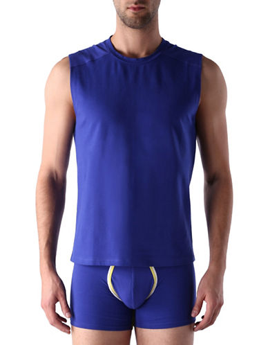 Diesel Stretch Muscle Tank Top-BLUE-Large 88464079_BLUE_Large